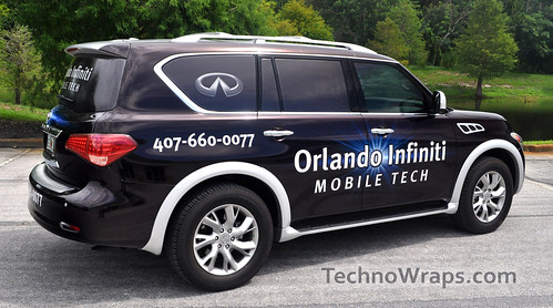 SUV Vehicle Wrap graphics Orlando