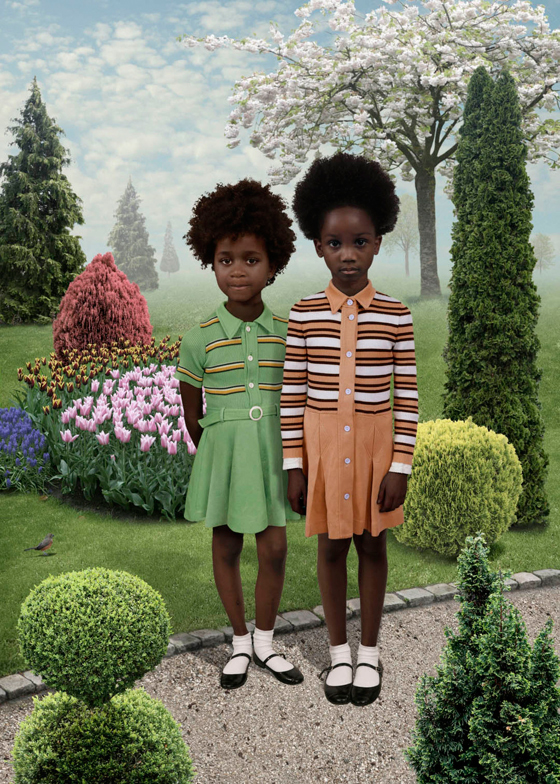 Ruud van Empel, Sunday 4, 2012. Image courtesy of the artist
