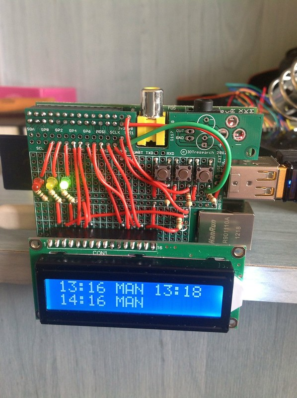 Pi Train Monitor