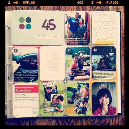 #projectlife week 45 right side