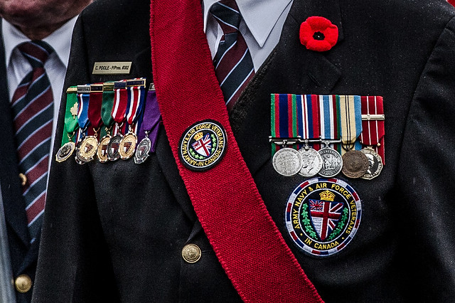 Remembrance Day Victoria from Flickr via Wylio