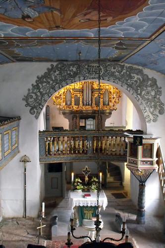 St. Marien, Seeba, Orgel