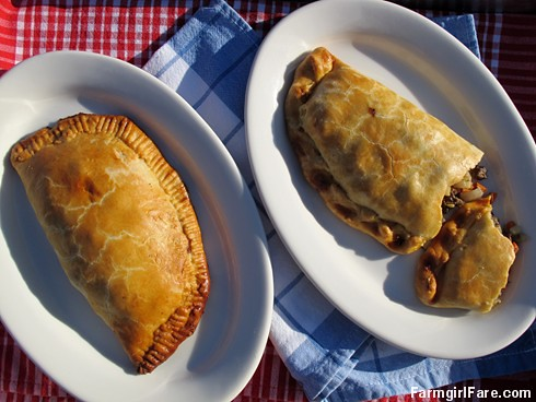 Jamie Oliver's English Cornish Pasties with beef, onion, potatoes, and carrots - FarmgirlFare.com