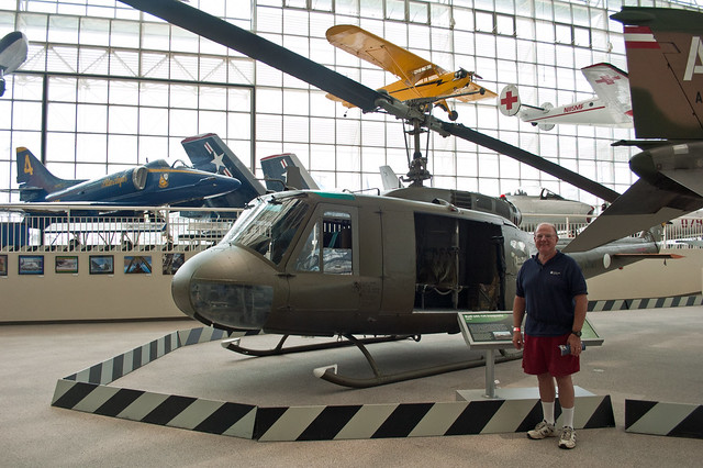 Dad and the Huey