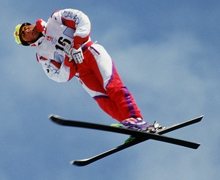 ALBERTVILLE WINTER OLYMPICS- FREESTYLE SKI/ AERIALS