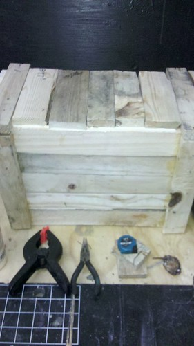 pallet scrap wood possible projects : BOX by bridgetDginley