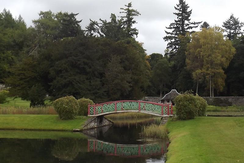 Blair Castle jardín
