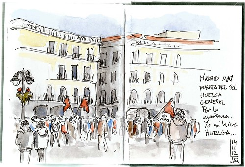 Madrid 14N Huelga general