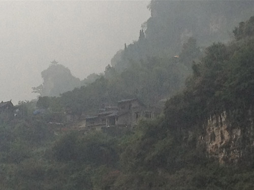 The Xiling Gorge on the Yangtze River