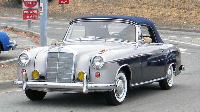 1960 mercedes benz 220 se cabriolet 39 vom 821 39 1 flickr for Mercedes benz burlingame