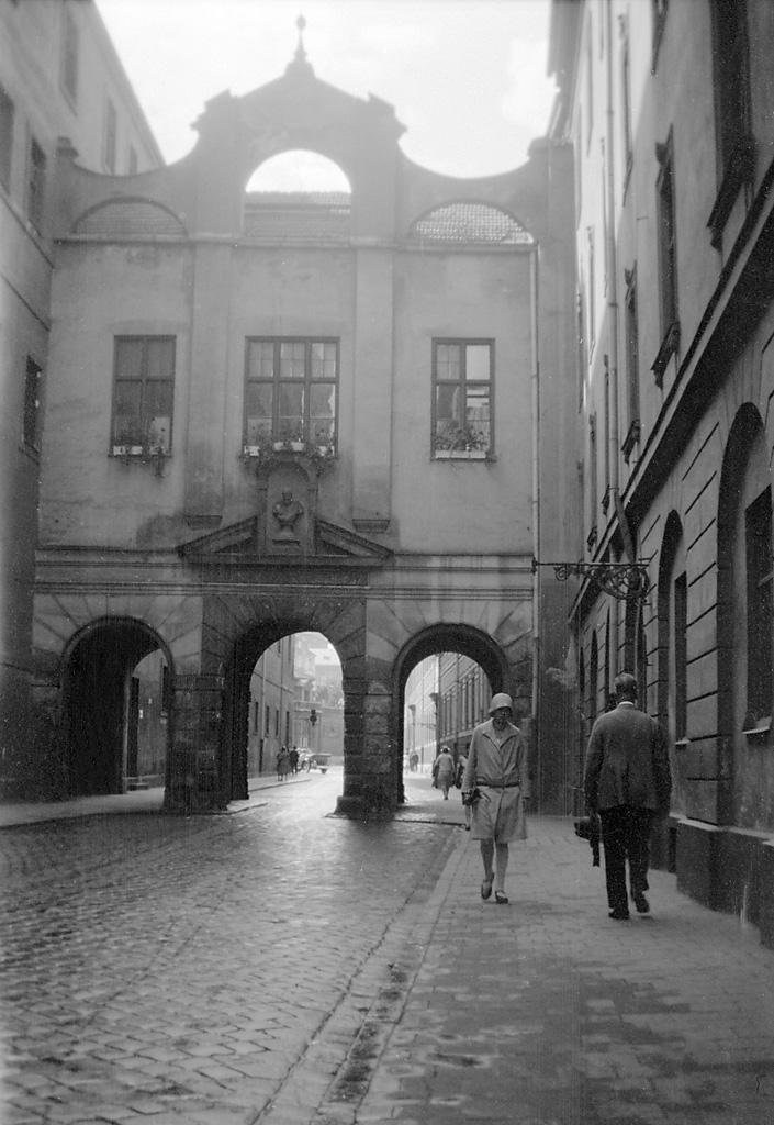 Unknown street in Munich, Germany