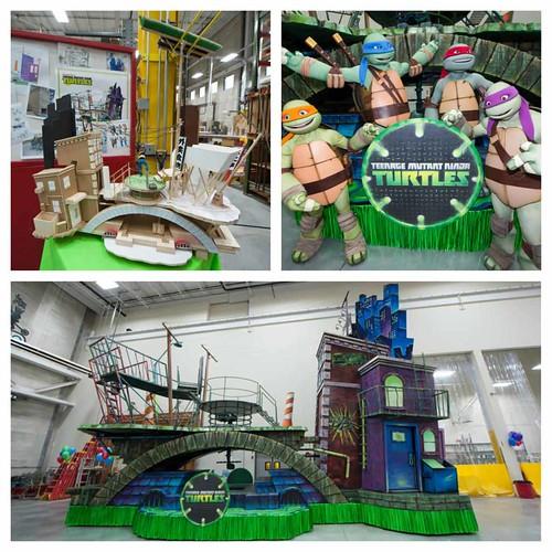 "Nickelodeon TEENAGE MUTANT NINJA TURTLES :: "" 86th Annual Macy's Thanksgiving Day Parade TEENAGE MUTANT NINJA TURTLES FLOAT"" ..peek  (( 2012 )) [[ Courtesy of TMNT Master & MACY'S ]]"