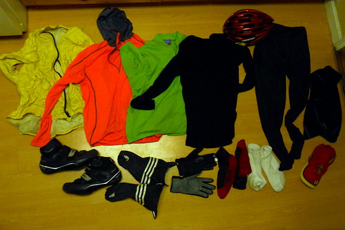 Cool & Rainy Weather Cycling Wear