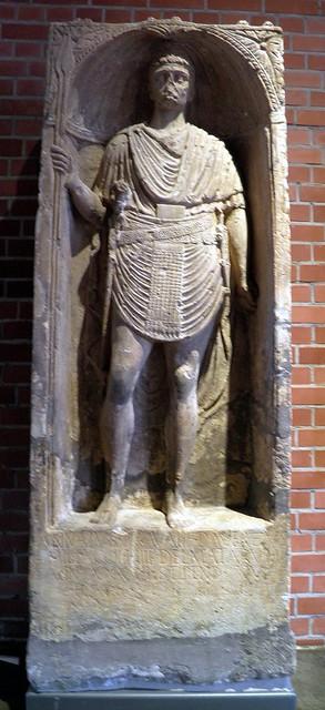 Annaius' tombstone, Römerhalle, Bad Kreuznach, Germany