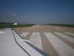 Décollage de l'aéroport de Krasnodar