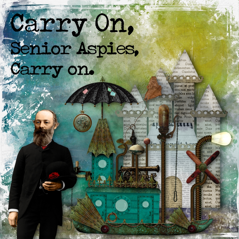 Carry on, Senior Aspies