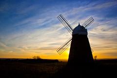 Halnaker Windmill Sunset
