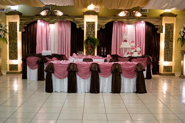 Small Wedding Reception Venues Houston : Wedding houston texas reception hall white pink brown flickr