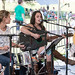 Louisiana Folk Roots Workshops at Festivals Acadiens et Creoles on Oct. 13, 2012: Laura Berard Huval, Callie Smith, Maegan Berard Hebert