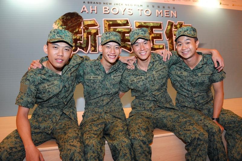 (L to R): Wang Wei Liang, Noah Yap, Joshua Tan and Maxi Lim (picture via CyberPioneer)