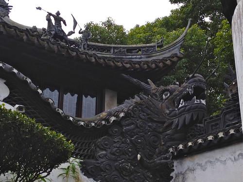Dragon, Yuyuan Garden, Shanghai