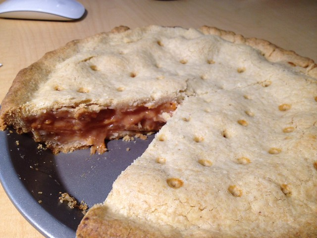 Five-Spice Persimmon Quince Pie   Flickr - Photo Sharing!