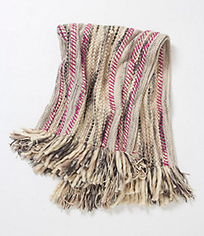 Glass and Sable Currently Loving Anthropologie Anaya Woven Throw Blanket
