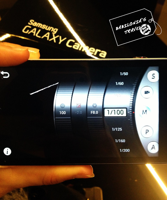 Frontal Samsung Galaxy Camera