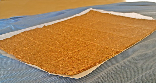 Almond Flour Crackers before baking
