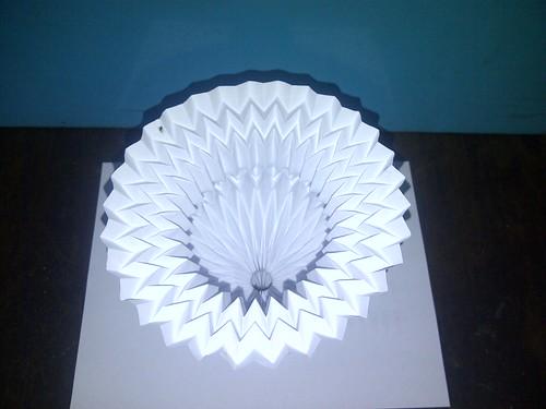 New Design Cup, Paper Folding / Nuevo Diseño Copa, Papel Plegado 2
