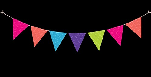 Bunting---Dots-and-Stripes---Rainbow---19
