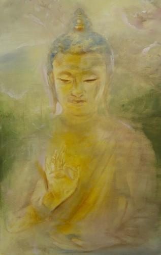 Spring Buddha by GreggChadwick