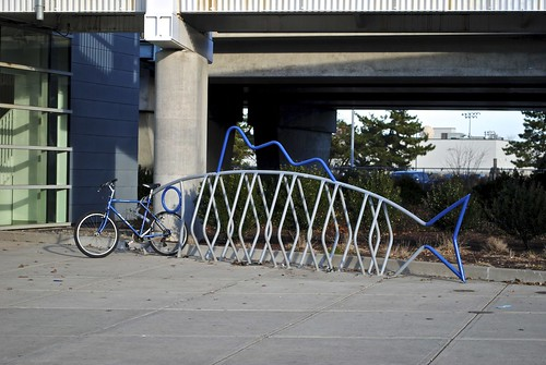 Fishbone Bike Rack