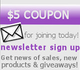 Sign up for the Katie's Charms email list