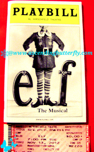 Elf The Musical Playbill WATERMARKED