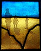 figures_beach_stained glass_lanscape_seaside