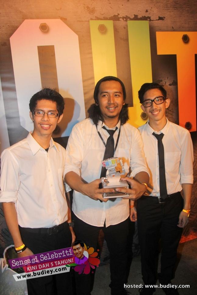 Senarai Pemenang Shout! Awards 2012