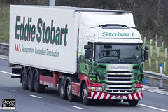 Scania R440 6x2 Tractor - PE11 WPN - Stacey Joanne - Green & Red - 2011 - Eddie Stobart - M1 J10 Luton - Steven Gray - IMG_0343