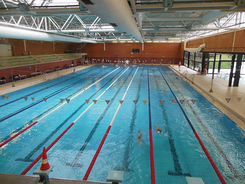 Salida del grupo master nataci n a anoeta y noche en hotel for Piscina 50 metros sevilla