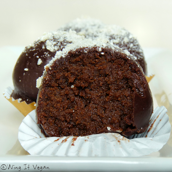 Rum Cake Truffles
