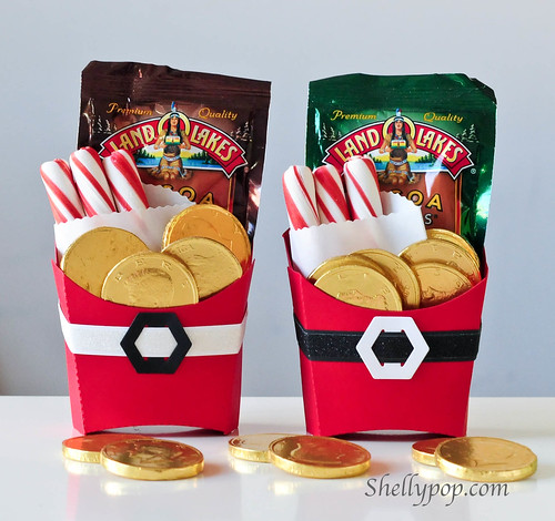 Santa Fry Treat Boxes