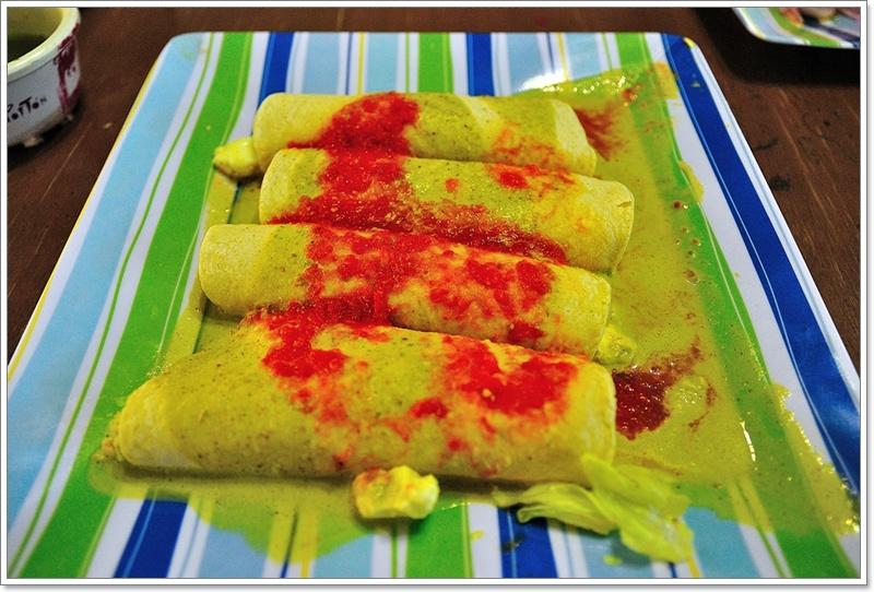 3包蛋的玉米捲