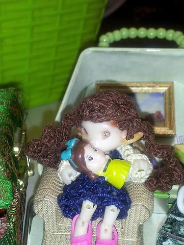 Myri loves her new dolly. by richila9098