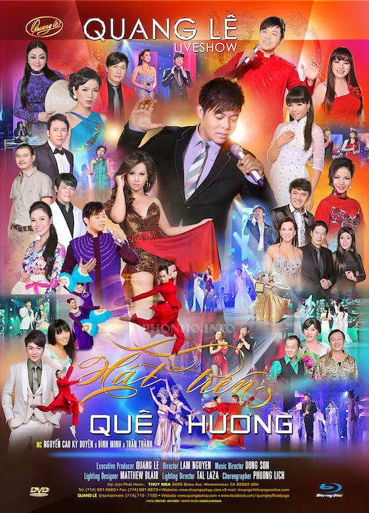Music Video: TN: LiveShow - QuangLe - Hát Trên Quê Hương