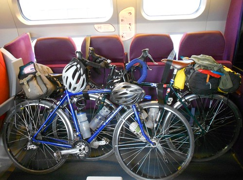 Bicycles on the Train