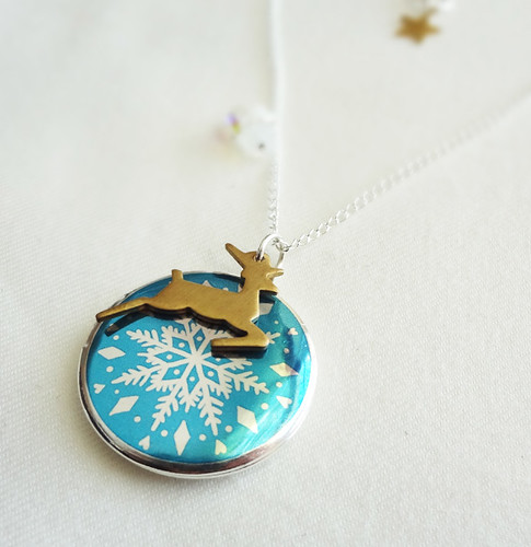 Snowfall Locket