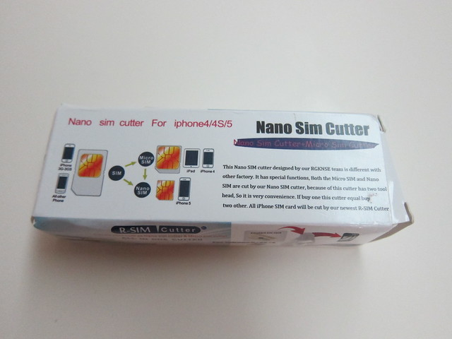 NanoSIM Cutter - Box