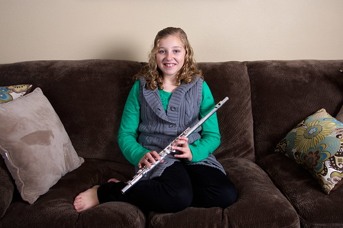 Flutist II by The Bacher Family
