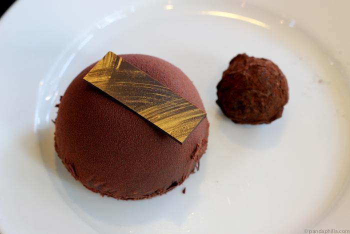 dome cake chocolat