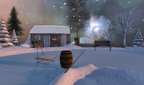 Home Sweet Home ♡ Winter Cottage ~ Rink